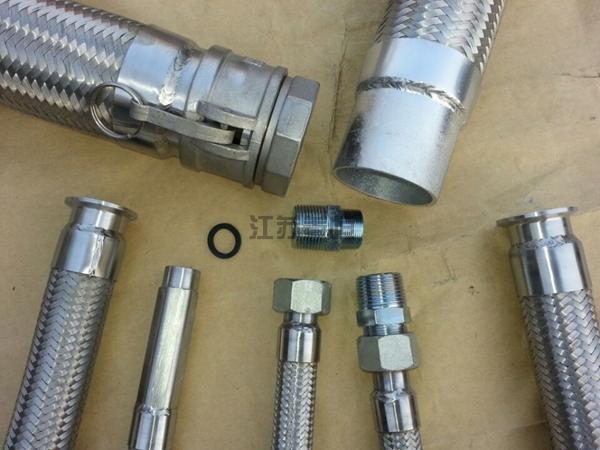 多种连接型式金属软管