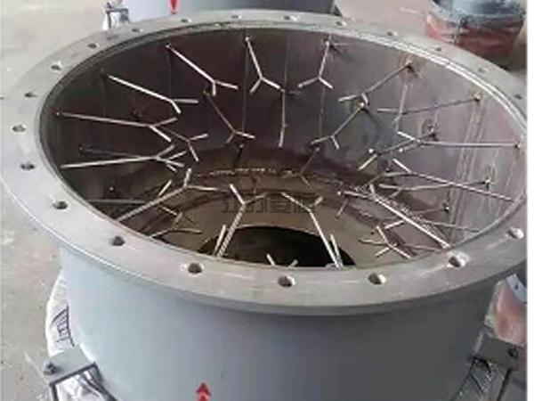 水泥厂专用高温金属补偿器